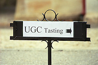 Trade wine tasting UGC Union des Grands Crus, Bordeaux. Medoc. Bordeaux, France