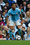 Kyle Walker of Manchester City during the premier league match at the Etihad Stadium, Manchester. Picture date 22nd September 2017. Picture credit should read: Simon Bellis/Sportimage