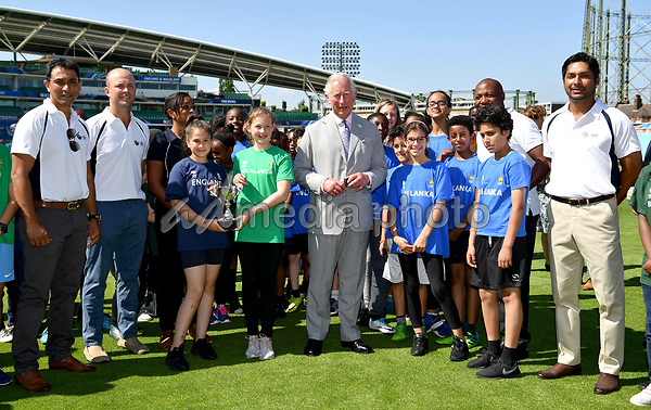 25 May 2017 - Prince Charles launches the ICC Champions Trophy at The Oval London. Photo Credit: ALPR/AdMedia