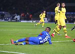 16.03.2019, OLympiastadion, Berlin, GER, DFL, 1.FBL, Hertha BSC VS. Borussia Dortmund, <br /> DFL  regulations prohibit any use of photographs as image sequences and/or quasi-video<br /> <br /> im Bild Salomon Kalou  (Hertha BSC Berlin #8)<br /> <br />       <br /> Foto &copy; nordphoto / Engler