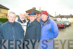 PARK SOMEWHERE ELSE: Residents from Stack Villas are sick and tired of people illegally parking in front of their homes. From l-r were: Michael Horan, Cllr. Johnny Wall, Willie Seeler and Patrick Cronin.