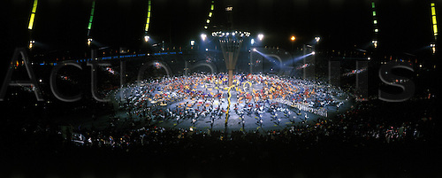 08 02 1992  Opening ceremony 1992 Winter Olympics in Albertville.