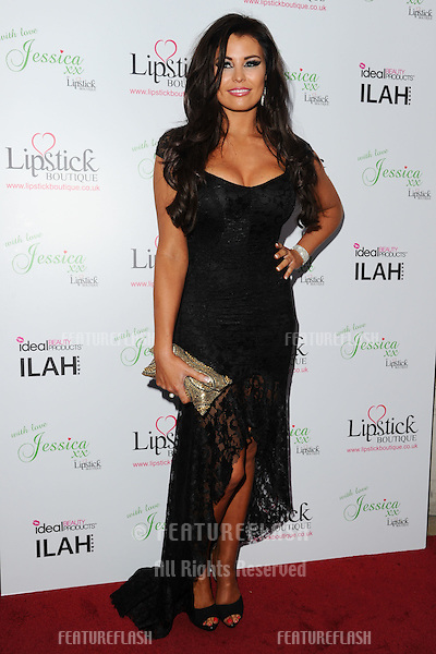 Jessica Wright arrives for the Lipstick Boutique & Jessica Wright clothing launch, Sanctum Soho Hotel, London. 21/08/2012 Picture by: Steve Vas / Featureflash