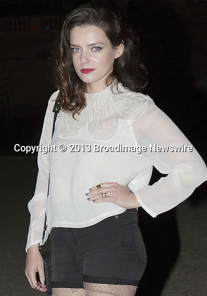 Pictured: Roxane Mesquida<br /> Mandatory Credit &copy; AFFR/Broadimage<br /> Appart from the Paris Fashion Week - Ready to Wear AW 2014/15 - &quot;Fashion Show H&amp;M&quot;<br /> <br /> 2/26/14, Paris, Paris, France<br /> <br /> Broadimage Newswire<br /> Los Angeles 1+  (310) 301-1027<br /> New York      1+  (646) 827-9134<br /> sales@broadimage.com<br /> http://www.broadimage.com