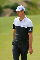 Justin Rose (ENG) on the 8th green during the 2nd round at the WGC HSBC Champions 2018, Sheshan Golf CLub, Shanghai, China. 26/10/2018.<br /> Picture Fran Caffrey / Golffile.ie<br /> <br /> All photo usage must carry mandatory copyright credit (&copy; Golffile | Fran Caffrey)