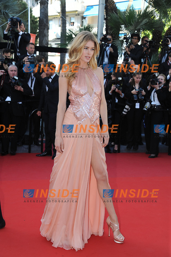 Doutzen Kroes .Cannes 17/5/2013 .Festival del Cinema di Cannes .Foto Panoramic / Insidefoto .ITALY ONLY
