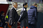 MADRID. ESPAÑA. FÚTBOL.<br /> Football match during La Copa del Rey (Spain);  04/01/2014.<br /> En la imagen :<br /> tCheftrainer Carlo Ancelotti (Real Madrid)