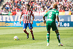 Atletico de Madrid's Augusto Fernandez and Real Betis's Musonda Jr. during BBVA La Liga match. April 02,2016. (ALTERPHOTOS/Borja B.Hojas)