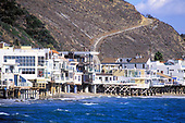 Malibu Coastline Houses, Los Angeles County, California (LA)