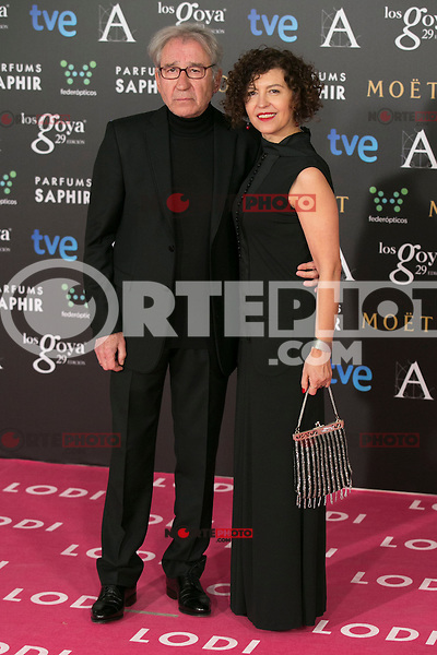 Jose Sacristan attend the 2015 Goya Awards at Auditorium Hotel, Madrid,  Spain. February 07, 2015.(ALTERPHOTOS/)Carlos Dafonte) /NORTEphoto.com
