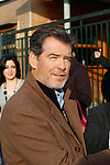 Pierce Brosnan visits Athens
