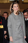 Princess Letizia of Spain  attend the inauguration of ARCO Contemporary Art Fair 2013 at Ifema. February 14, 2013. (ALTERPHOTOS/Caro Marin)
