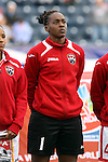 24 October 2014: Kimika Forbes (TRI). The Costa Rica Women's National Team played the Trinidad & Tobago Women's National Team at PPL Park in Chester, Pennsylvania in a 2014 CONCACAF Women's Championship semifinal game, which serves as a qualifying tournament for the 2015 FIFA Women's World Cup in Canada. Costa Rica advanced to the championship game, and qualified for next year's Women's World Cup, by winning the penalty shootout 3-0 after the game ended in a 1-1 tie after double overtime.