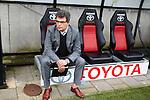 Nederland, Nijmegen, 10 mei 2012.Seizoen 2011/2012.Eredivisie.N.E.C.-Vitesse.V.l.n.r.Ted van Leeuwen Technisch Directeur van VItesse