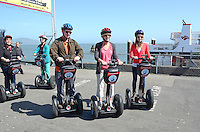 Segways, personal transportation devices, are a great way to get around Fisherman's Wharf, San Francisco, California, USA, 201304131261<br /> <br /> Copyright Image from Victor Patterson, 54 Dorchester Park, Belfast, UK, BT9 6RJ<br /> <br /> Tel: +44 28 9066 1296<br /> Mob: +44 7802 353836<br /> Voicemail +44 20 8816 7153<br /> Skype: victorpattersonbelfast<br /> Email: victorpatterson@me.com<br /> Email: victorpatterson@ireland.com (back-up)<br /> <br /> IMPORTANT: If you wish to use this image or any other of my images please go to www.victorpatterson.com and click on the Terms &amp; Conditions. Then contact me by email or phone with the reference number(s) of the image(s) concerned.