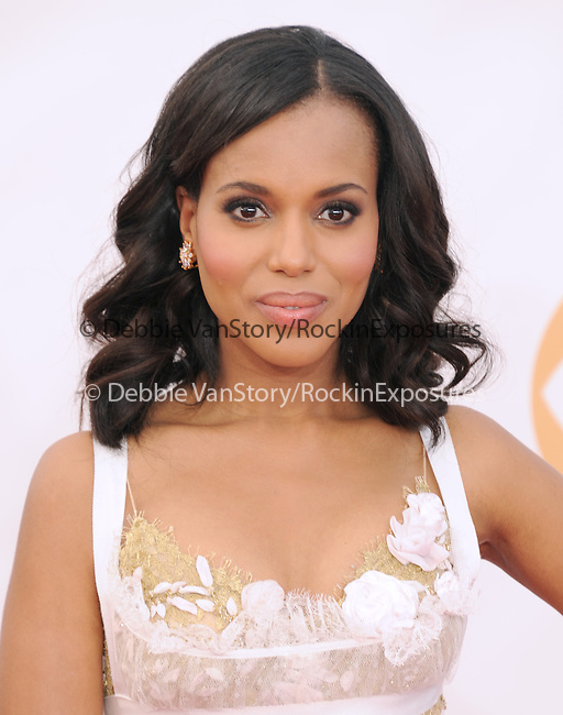 Kerry Washington attends 65th Annual Primetime Emmy Awards - Arrivals held at The Nokia Theatre L.A. Live in Los Angeles, California on September 22,2012                                                                               © 2013 DVS / Hollywood Press Agency
