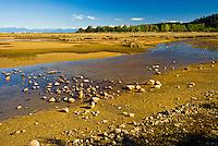 Beach at low tide in Marahau on Abel tasman Coastal Track - Abel Tasman National Park, Nelson Region, New Zealand