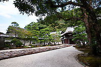 Nanzen-in Temple approach, Nanzen-ji Temple, Kyoto, Japan.
