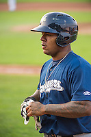 David Denson (30) of the Helena Brewers during the game against the Ogden Raptors in Pioneer League action at Lindquist Field on August 19, 2015 in Ogden, Utah.Ogden defeated Helena 4-2.  (Stephen Smith/Four Seam Images)
