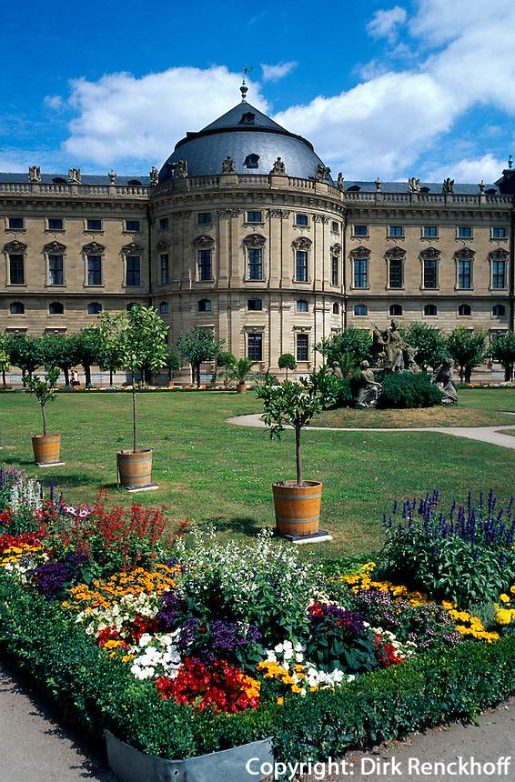 Deutschland, Würzburg.Residenz, UNESCO-Weltkulturerbe