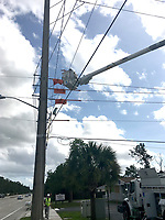 2017 FPL Hurricane Irma restoration in West Palm Beach, Fla. on Sept. 11, 2017.