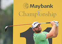 Casey O'Toole (USA) on the 11th during Round 2 of the Maybank Championship at the Saujana Golf and Country Club in Kuala Lumpur on Friday 2nd February 2018.<br /> Picture:  Thos Caffrey / www.golffile.ie<br /> <br /> All photo usage must carry mandatory copyright credit (&copy; Golffile | Thos Caffrey)