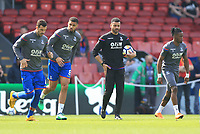Crystal Palace coach steven Reid during the warm up of Crystal Palace vs Brighton & Hove Albion, Premier League Football at Selhurst Park on 14th April 2018