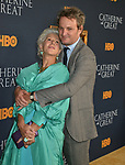 "a_Helen Mirren, Jason Clarke 012 attends the Los Angeles Premiere Of The New HBO Limited Series ""Catherine The Great"" at The Billy Wilder Theater at the Hammer Museum on October 17, 2019 in Los Angeles, California."