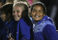 Boyds, MD - Friday Sept. 30, 2016: Young fans prior to a National Women's Soccer League (NWSL) semi-finals match between the Washington Spirit and the Chicago Red Stars at Maureen Hendricks Field, Maryland SoccerPlex. The Washington Spirit won 2-1 in overtime.
