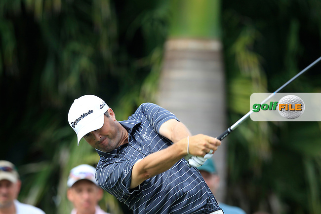 Ryan Palmer  (USA) during the 3rd round at the WGC Cadillac Championship, Blue Monster, Trump National Doral, Doral, Florida, USA<br /> Picture: Fran Caffrey / Golffile