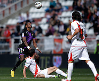 Real Valladolid's Manucho  during La Liga  match. February 24,2013.(ALTERPHOTOS/Alconada)