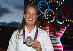 Aug. 3, 2012 - 4 Olympic Summer Games London GBR 02 08 2012 Champions Club Berlin on the MS Germany Britta Oppelt Rowing Double 4 Rowing Silver medal Olympia London Olympic Games Summer Games Summer  Photo shooting  x0x 2012  Champions Club Olympia (Credit Image: © Imago/ZUMAPRESS.com)