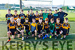 The Austin Stacks U10's taking part in the 5th Annual John Lynch Memorial football tournament in Connolly Park on Saturday.