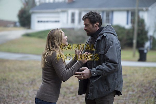 Maria Bello, Hugh Jackman<br /> in Prisoners (2013) <br /> *Filmstill - Editorial Use Only*<br /> CAP/NFS<br /> Image supplied by Capital Pictures