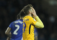 Preston North End's Tom Barkuizen regrets a missed chance<br /> <br /> Photographer Mick Walker/CameraSport<br /> <br /> The EFL Sky Bet Championship - Sheffield Wednesday v Preston North End - Saturday 22nd December 2018 - Hillsborough - Sheffield<br /> <br /> World Copyright &copy; 2018 CameraSport. All rights reserved. 43 Linden Ave. Countesthorpe. Leicester. England. LE8 5PG - Tel: +44 (0) 116 277 4147 - admin@camerasport.com - www.camerasport.com