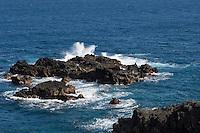 Spain, Canary Islands, La Palma, Los Cancajos: rocks