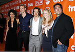 Actors Gloria Reuben, Teddy Sears, Mark-Paul Gosselaar, Melissa Sagemiller and David Feige arrive at the Turner Broadcasting TCA Party at The Oasis Courtyard at The Beverly Hilton Hotel on July 11, 2008 in Beverly Hills, California.