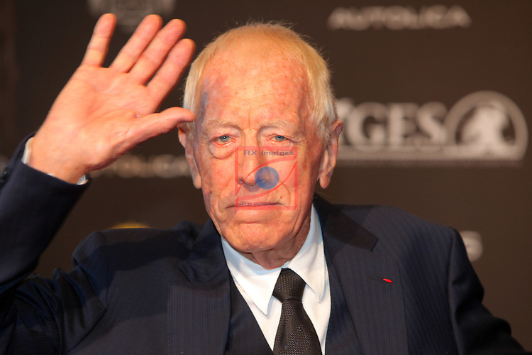 49 Festival Internacional de Cinema Fantastic de Catalunya-Sitges 2016.<br /> Red Carpet Inside.<br /> Max Von Sydow.