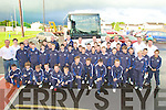 CROKEPARK: The young football players of KOR Football club with their coaches and parents heading off to Croke park from the Kerin O'Rahillys GAA Club, Strand Road, Tralee on Tuesday morning to play in three matchs..