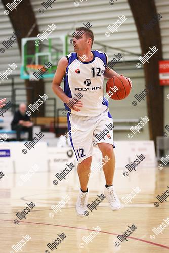 2008-09-14 / Basketbal / Pitzemburg / Sven Veldeman..Foto: Maarten Straetemans (SMB)