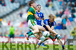 Brian Friel Kerry in action against Evaan Fortune Cavan in the All Ireland Minor Semi Final in Croke Park on Sunday.