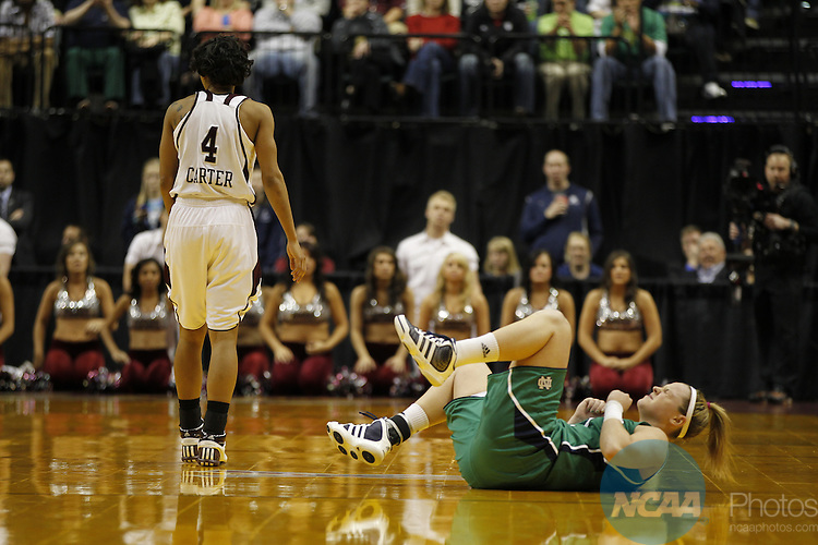 05 APR 2011:  Texas A&M University takes on Notre Dame University during the Division I Women's Basketball Championship held at Conseco Fieldhouse in Indianapolis, IN.  Texas A&M defeated Notre Dame 76-70 for the national title.  Jamie Schwaberow/NCAA Photos