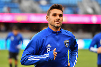 SAN JOSE, CA - MARCH 7: Chris Wondolowski #8 of the San Jose Earthquakes during a game between Minnesota United FC and San Jose Earthquakes at Earthquakes Stadium on March 7, 2020 in San Jose, California.