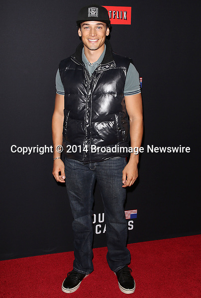 Pictured: Andrew M. Gray <br /> Mandatory Credit &copy; Frederick Taylor/Broadimage<br /> &quot;House Of Cards&quot; - Season 2 Special Screening<br /> <br /> 2/13/14, Los Angeles, California, United States of America<br /> <br /> Broadimage Newswire<br /> Los Angeles 1+  (310) 301-1027<br /> New York      1+  (646) 827-9134<br /> sales@broadimage.com<br /> http://www.broadimage.com