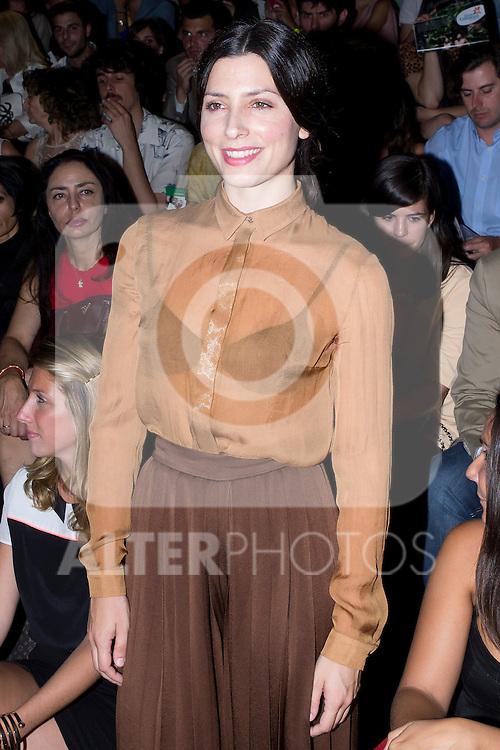 01.09.2012. Celebrities attending the Juan Duyos fashion show during the Mercedes-Benz Fashion Week Madrid Spring/Summer 2013 at Ifema. In the image Barbara Lennie (Alterphotos/Marta Gonzalez)