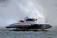 """John Shaw, E-54 """"White Trash""""    (H350 Hydro) (5 Litre class hydroplane(s)"""