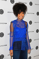 LOS ANGELES - AUG 12: Yara Shahidi at the 5th Annual BeautyCon Festival Los Angeles at the Convention Center on August 12, 2017 in Los Angeles, California
