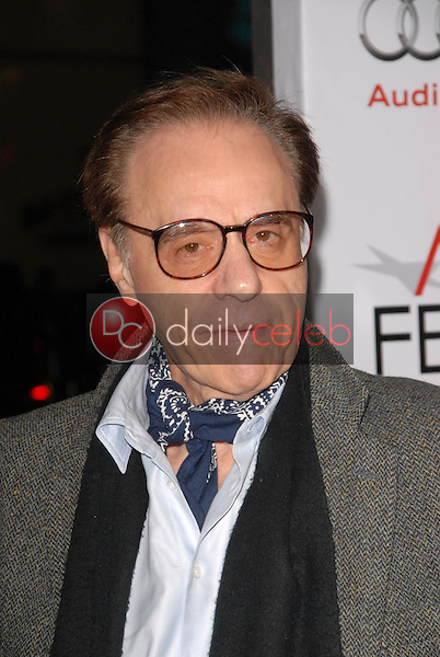 Peter Bogdanovich<br />at the Los Angeles Screening of 'Fantastic Mr. Fox' for the opening night of AFI Fest 2009. Grauman's Chinese Theatre, Hollywood, CA. 10-30-09<br />Dave Edwards/DailyCeleb.com 818-249-4998