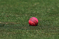 A pink ball in the outfield during Essex CCC vs Middlesex CCC, Specsavers County Championship Division 1 Cricket at The Cloudfm County Ground on 26th June 2017