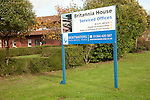 Britannia House serviced offices at former US Air Force Bentwaters base, Rendlesham, Suffolk, England